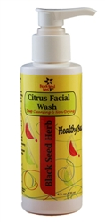 Black Seed Citrus Facial Wash - 4 oz