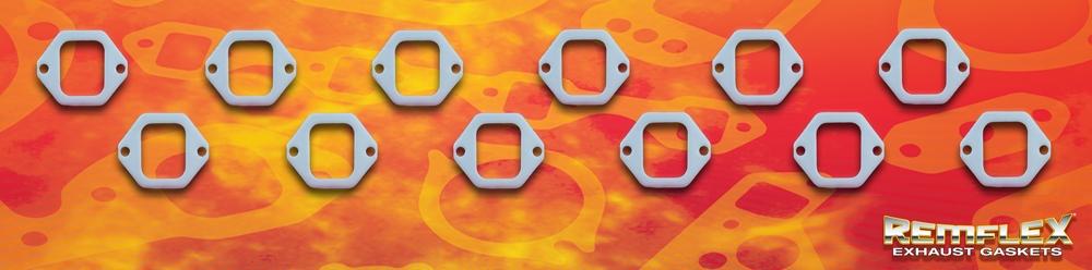 PN 4008 -- DIESEL REMFLEX® HD CATERPILLAR ENGINE Exhaust Manifold Gasket  Set Port Size 2