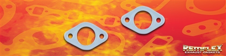 "PN 8085 -- UNIVERSAL  REMFLEX®    1-1/4"" 2 Bolt Flange Gasket  1-1/4"" Port with 2(ea) 5/16"" Bolt Holes on a 2-1/4"" Bolt Spacing  2 Each"