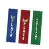 Custom Foil Stamped 3 inch flat ribbon