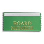 Board Member Badge Ribbon