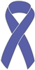 Esophogeal Cancer Awareness Ribbon Pin - Periwinkle
