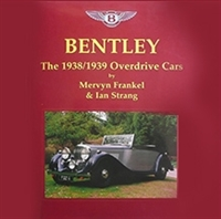 Bentley, The 1938/1939 Overdrive Cars Cover