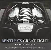 Bentley's Great Eight by Karl Ludvigsen cover