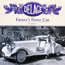 Delage:  France's Finest Car Cover