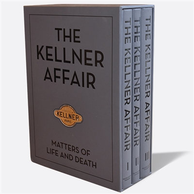 The Kellner Affair by Peter M. Larsen and Ben Erickson Cover