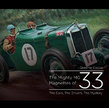 The Mighty MG Magnettes of 33 Cover
