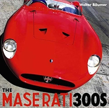 Maserati 300S First Edition by Walter Bäumer Cover