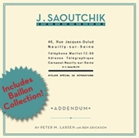 Saoutchik Addendum by Peter M. Larsen with Ben Erickson Cover