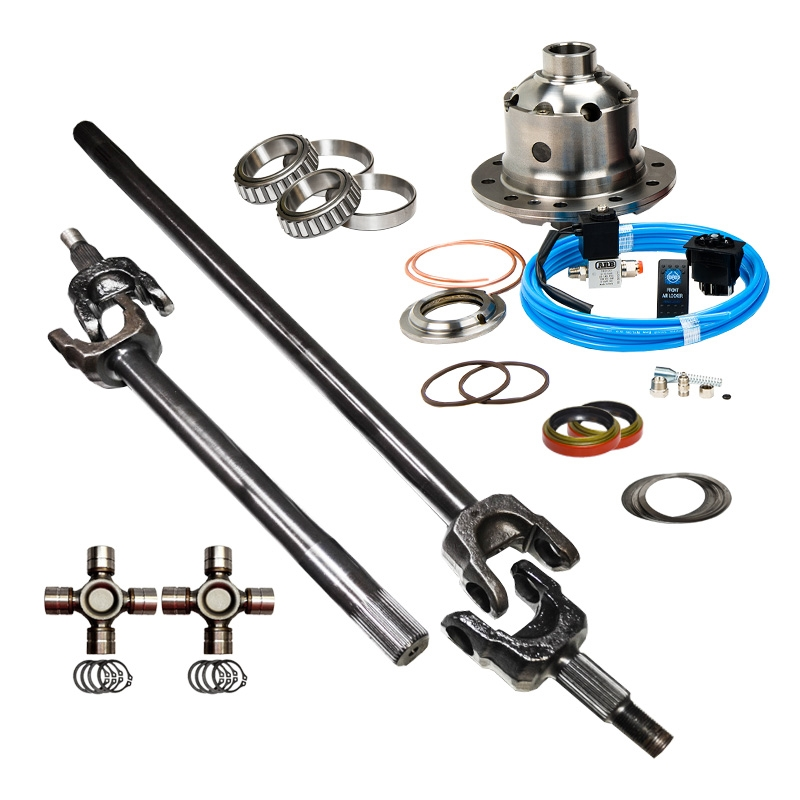 2007-2017 Wrangler, Jeep JK, 32/35 Spline ARB Air Locker 147, Nitro Front  Axle Upgrade Kit for Dana 44