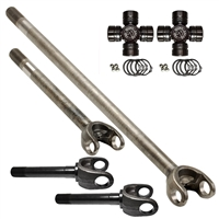 Dana 60 4340 Chromoly Nitro Front Axle Kit with Excalibur U-joint
