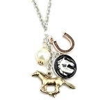 Horse Charms Wire Necklace - Package (3)