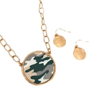 Camouflage Chain Necklace Set - Package (3)