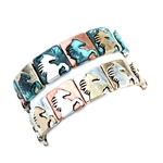 JB292 - Wild Horse Bracelet - Silver or Patina - Package (3)