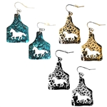 Horse on Metal Cowtag - Silver, Patina or Gold - Package (3)