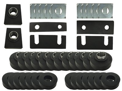 Chevy Tri-Five 55-57 Sedan Body Mount Kit - Subframe Bushing