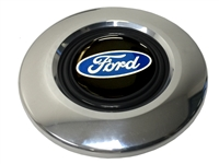 Ford Polished Covert 6-bolt Horn Button