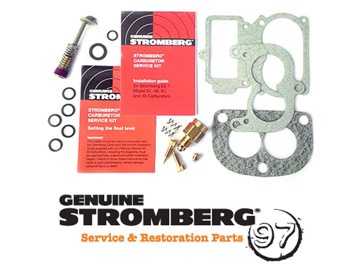 Genuine Stromberg , 9590K 97 Premium Service Kit 97 48 40 , Carburetor ,  early ford ,