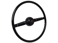 Forty Steering Wheel Kit with Classic Red Script