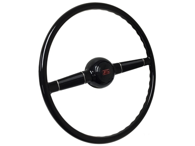 "16"" Forty Steering Wheel with Ford Horn Cap"