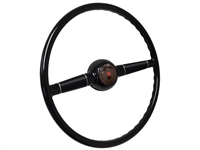 Forty Steering Wheel Kit with Brown V8 Cap