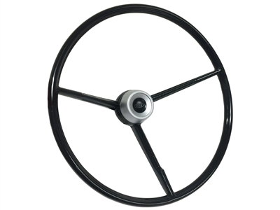 Auto Pro Usa Ford Falcon Steering Wheel Kit Black 1960