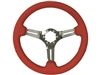 S6 , Sport , red , leather , Steering Wheel , chrome Center , Auto Pro USA , GM , MOPAR , FORD , Corvette , Mustang , Charger , Challenger , Camaro , El camino , Impala , bel air , nova , chevy II , oldsmobile , firebird , bronco , vw ,