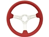 S6 , Sport , red , leather , Steering Wheel , brushed Center , Auto Pro USA , Volante , GM , MOPAR , FORD , Corvette , Mustang , Charger , Challenger , Camaro , El camino , Impala , bel air , nova , chevy II , oldsmobile , firebird , bronco , vw ,