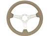 S6 , Sport , tan , leather , Steering Wheel , brushed Center , Auto Pro USA , Volante , GM , MOPAR , FORD , Corvette , Mustang , Charger , Challenger , Camaro , El camino , Impala , bel air , nova , chevy II , oldsmobile , firebird , bronco , vw ,