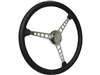 Sprint Steering Wheel Kit, Etched Series Hot Rod V8 - 3 Spoke Holes Design