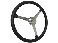 Sprint Steering Wheel Kit, Etched Series Hot Rod V8 - 3 Spoke Design
