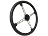Sprint Wheel 4 Spoke with Holes Deluxe Black Kit