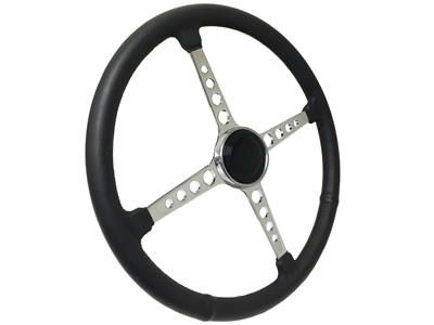 Sprint Wheel 4 Spoke Black Hot Rod Kit with holes