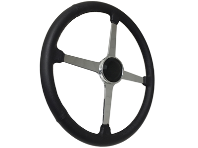 Sprint Wheel Solid 4 Spoke Black Hot Rod Kit