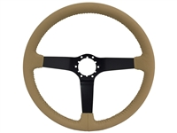 Auto Pro USA , Volante Steering Wheel , Corvette , C3 , C4 , oe restoration , solid , tan leather , black , Steering Wheel , GM , black , Correct , Chevy ,