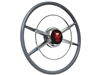 Crestliner Steering Wheel Red Mercury Kit