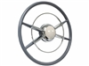 Crestliner Steering Wheel Kit with White Horn Button
