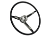 Ford , Mustang , 1964 , Steering Wheel , full kit , horn ring , contact plate , black , OE , volante , auto pro usa , brand new , reproduction ,