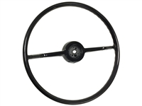 1953 - 1954 Chevy Black Steering Wheel 18 inch
