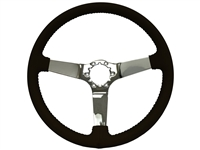 Auto Pro usa , volante , oe restoration , slolid , leather , black , Steering Wheel , GM , chrome , MOPAR , Corvette , 1963 , 1964 , 1965 , 1966 , 1967 , 1968 , 1969 , 1970, 1971 , 1972, 1973 , 1974 , 1975 , 1976 , 1977 , 1978 , 1979 , 1980 , 1981 , 1982