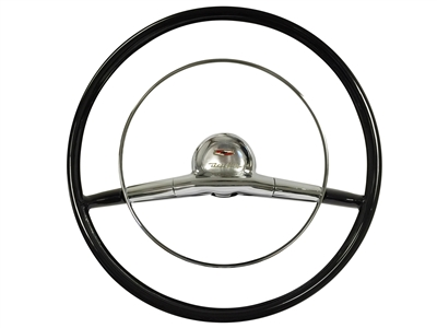Auto Pro USA , Volante , Tri 5 , Bel Air , 18 inch , Steering Wheel , 1957 , Chevy , Reproduction ,