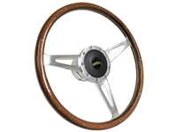 Classic , LimeWorks , Steering Wheel Kit,  Wood , Taper and Key , Hot Rod , Street Rod