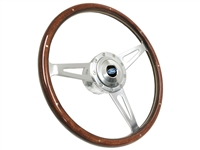S9 Classic Wood Steering Wheel Ford Premium Kit
