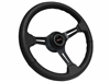 GMC Resto Style Steering Wheel Black Kit