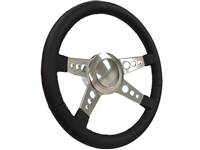 Mahogany , Leather , Steering Wheel Kit , Taper and Key , Ididit , Flaming River , Hot Rod , Street Rod