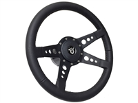 Hot Rod V8 Steering Wheel Kit Black Edition