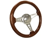 Walnut , Wood , Steering Wheel Kit , Taper and Key , Ididit , Flaming River , Hot Rod , Street Rod