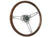 Auto Pro USA , Volante , Pontiac , Steering , Wheel , Auto Pro USA , Wood , reproduction , Kit , 6 bolt , Chrome