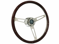 Pontiac , Steering , Wheel , Auto Pro USA , Wood , reproduction , Kit , 6 bolt , Volante , Green Arrow ,