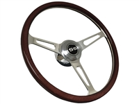 Chevy S6 Classic Wood Deluxe Espresso Wood SS Retro Kit